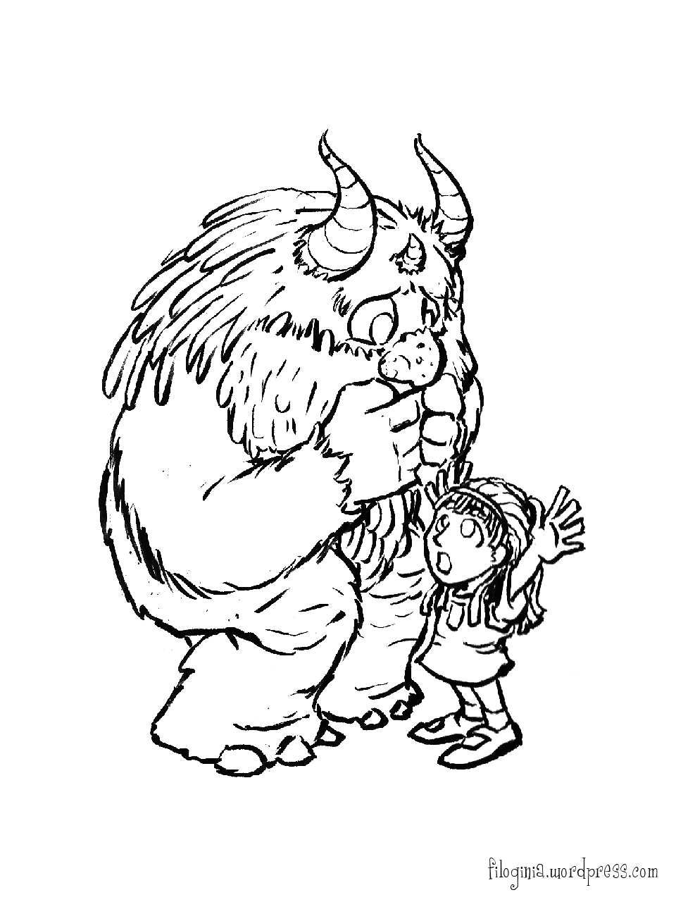 Where The Wild Things Are Coloring Pages With
